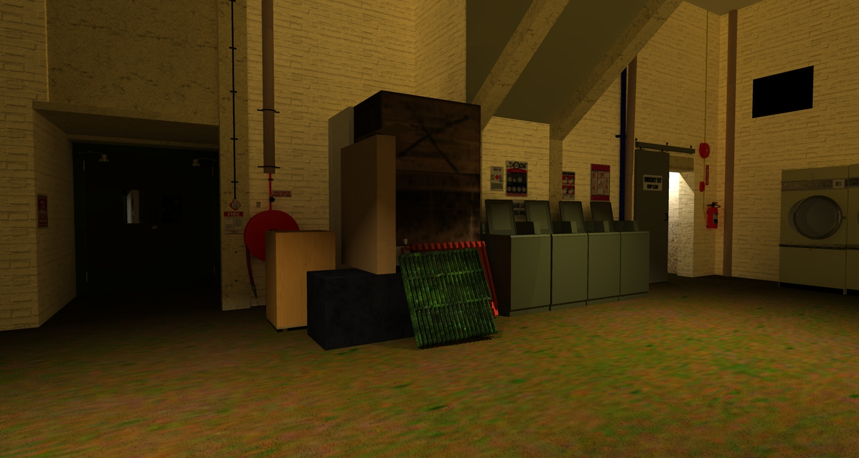 boiler room set emergency exit