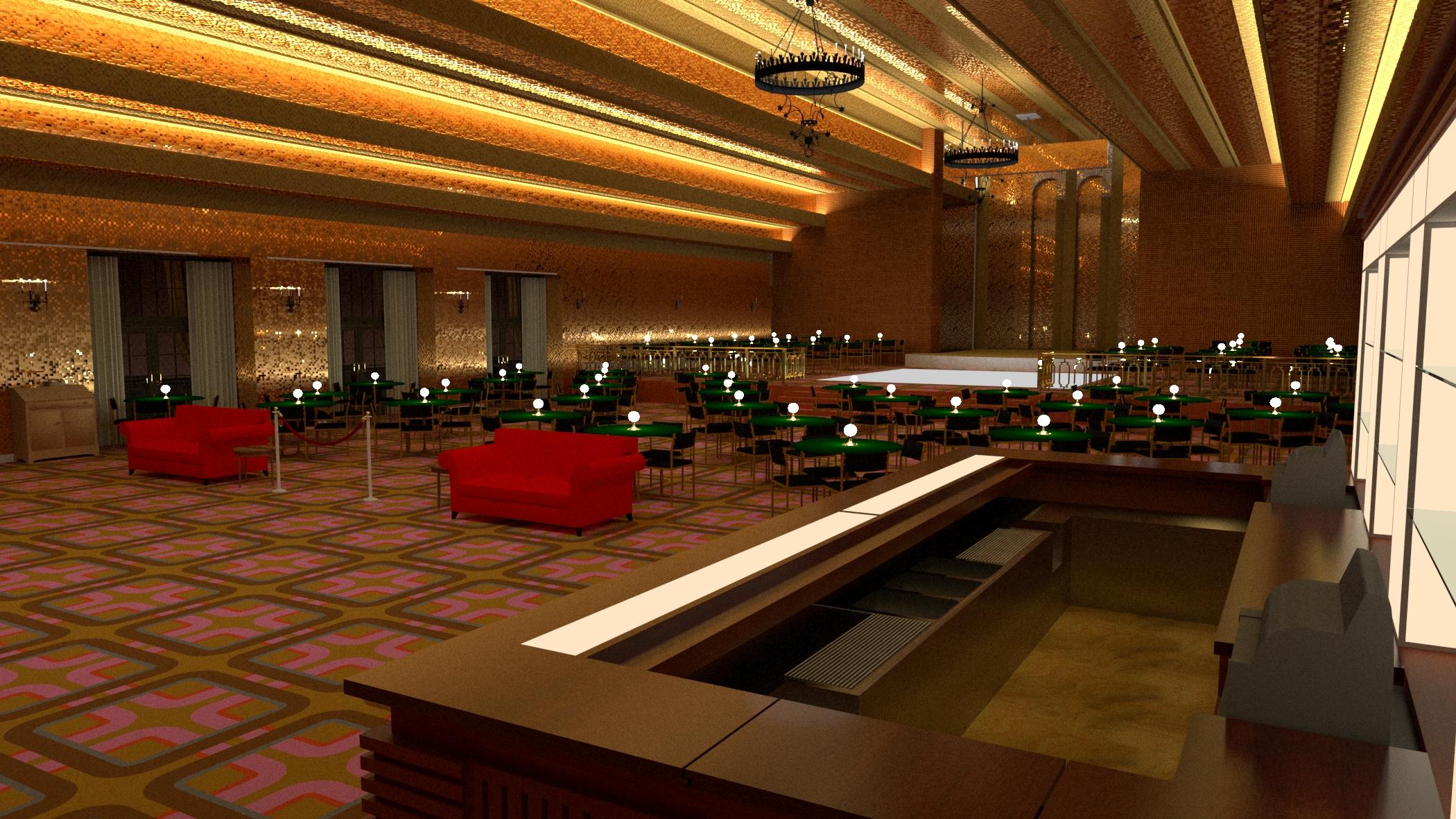 The Goldroom bar