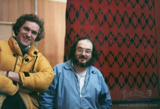 Stanley Kubrick and Brian Cook