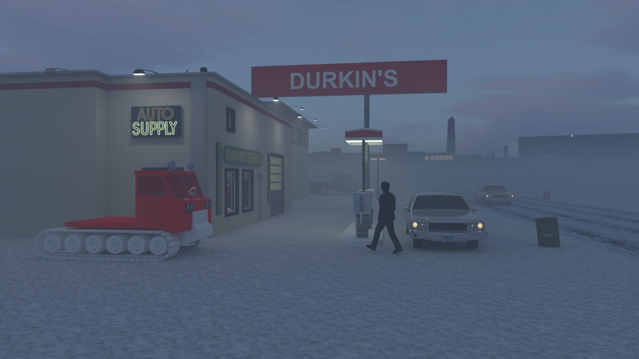 exterior Durkin's